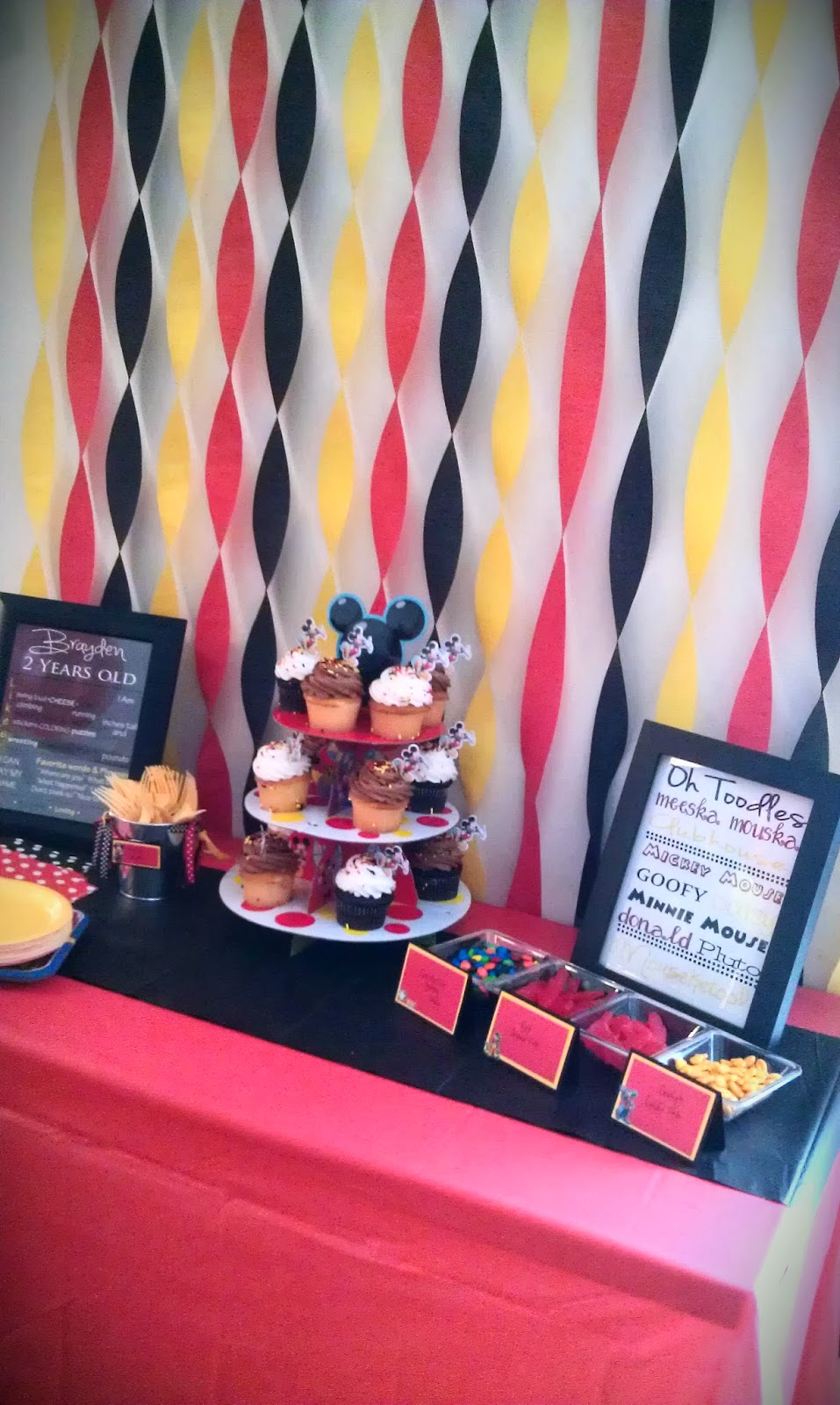One Happy Mommy Mickey Mouse Clubhouse 2nd Birthday Party