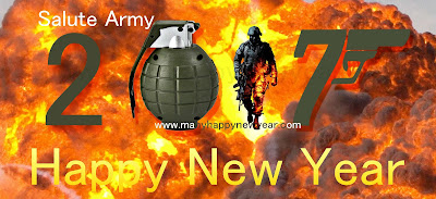 Happy new year Nepal Army Flag 2017