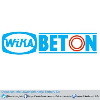 Informasi loker BUMN Lowongan Kerja PT Wijaya Karya Beton Tbk (WIKA Beton) 2016