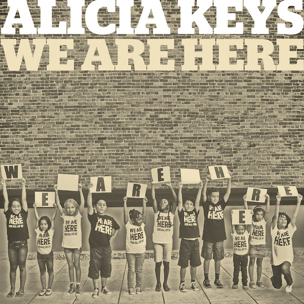 Alicia Keys - We Are Here - Single Cover