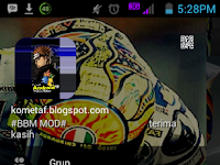 BBM MOD v3.0.1.25: Valentino Rossi APK Update 2016 Gratis