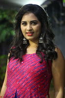 Srushti in beautiful Pink Sleeveless Dress Cute Actress Dimples ~  Exclusive 005.JPG