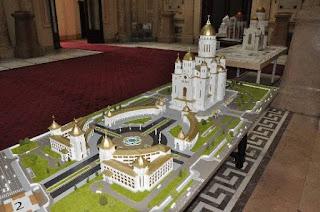 machetă cu catedrala - imagine preluată de pe google images