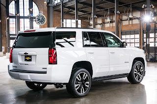 The New Chevrolet Tahoe RST 2018