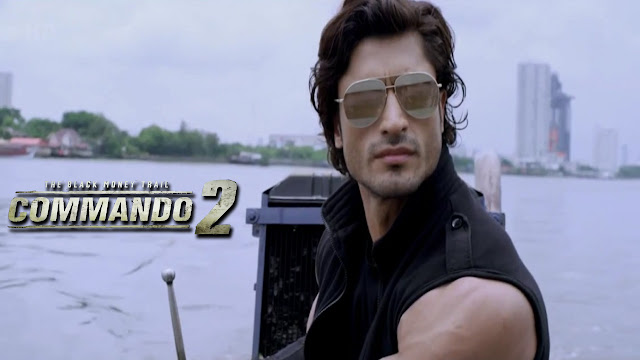 Commando 2 Hero Vidyut Jammwal Wallpaper