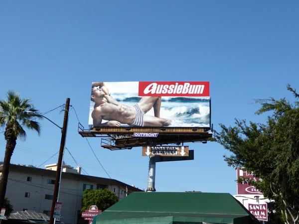 AussieBum swimming trunks Summer 2016 billboard