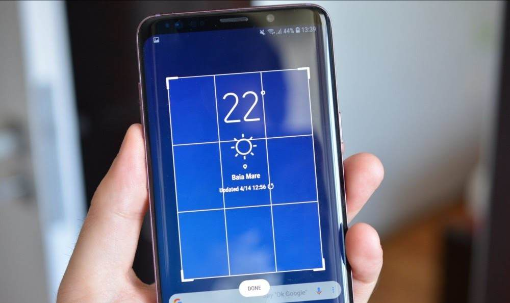 How To Take A Screenshot by Using Samsung's Smart Select