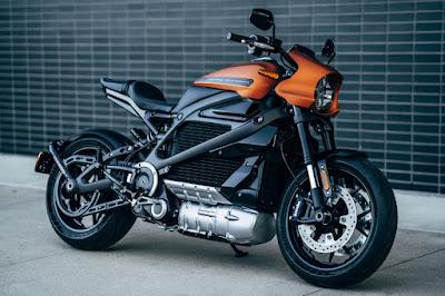 Harley-Davidson LiveWire (2019) Front Side