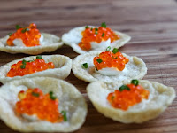 "Trout Caviar ""Fish & Chips"" – And the Oscar for Best Hors d'Oeuvre Goes to…"