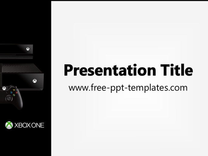 Free powerpoint templates xbox one ppt template toneelgroepblik Image collections