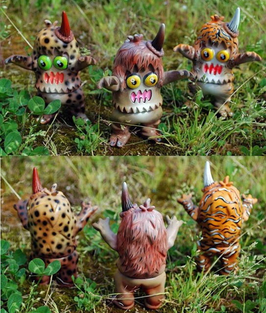 Wild Cats Ugly Unicorns by Rampage Toys - Leopard, Lion and Tiger Ugly Unicorns