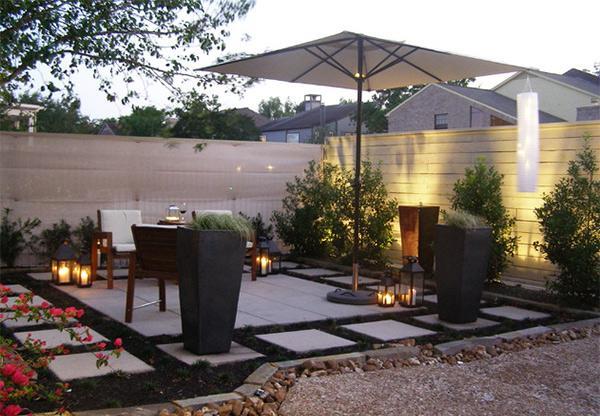 Taman Patio untuk Keindahan Outdoor Rumah Minimalis