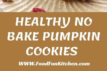 HEALTHY NO BAKE PUMPKIN COOKIES #Valentines #Cookies