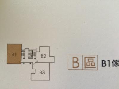 方城市 B棟平面圖