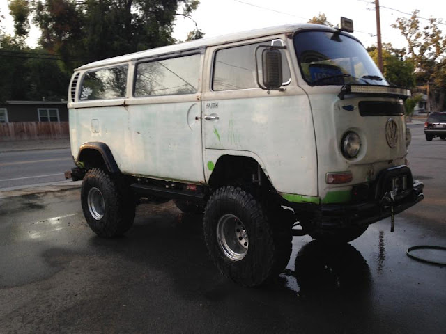off road 4x4 vw bus