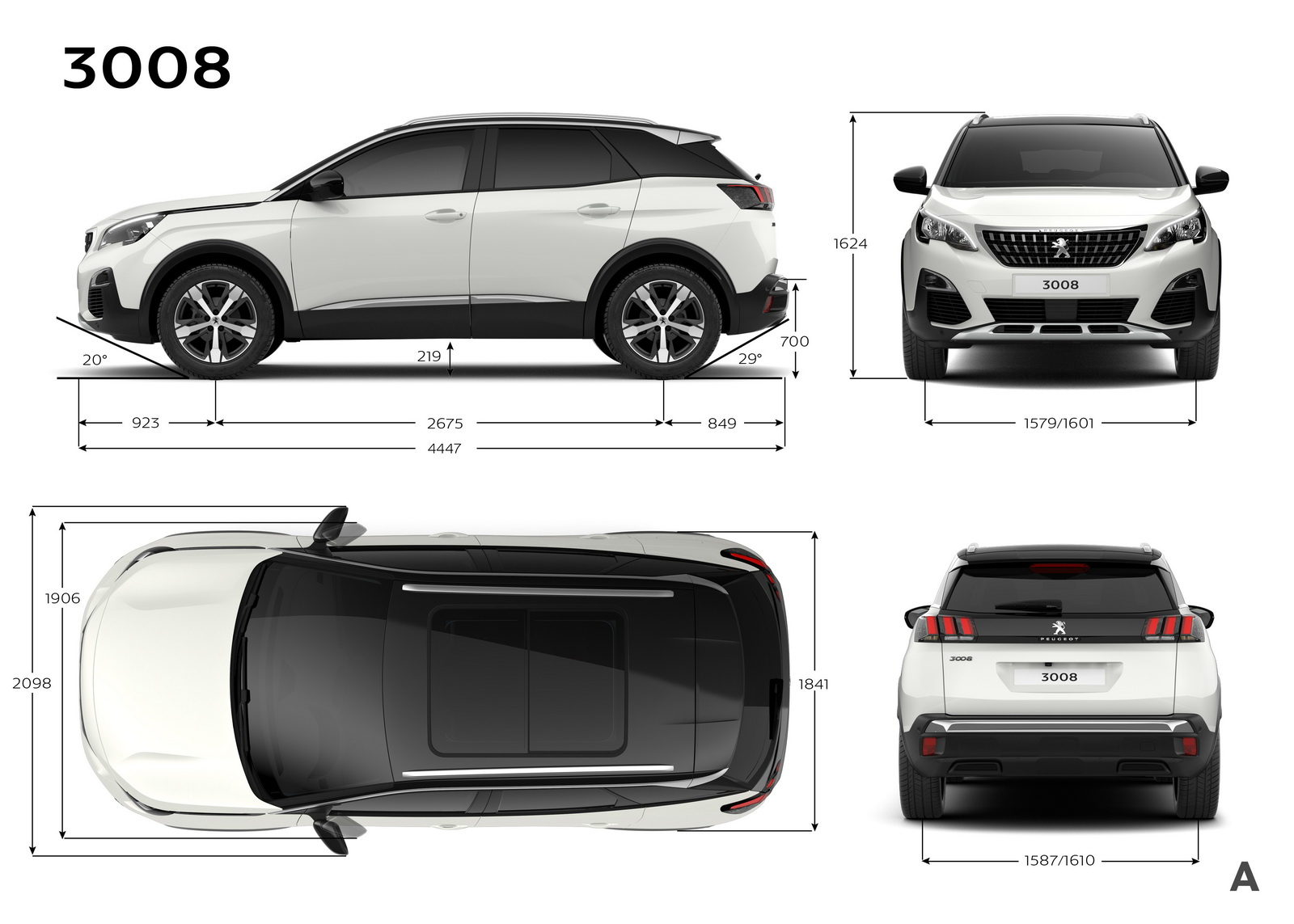 peugeot reveals qashqai rivalling 3008 suv 39 pics carscoops. Black Bedroom Furniture Sets. Home Design Ideas