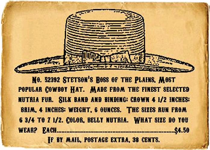 8a3606d0569 The American Cowboy Chronicles  John B. Stetson --
