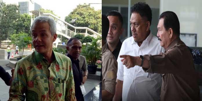 Terlibat Korupsi E-KTP, Dua Gubernur PDIP Ganjar Pranowo dan Olly Dondokambey Diperiksa