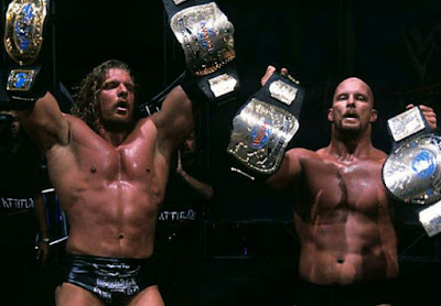 WWF Triple H Stone Cold Intercontinental Tag Team Championships