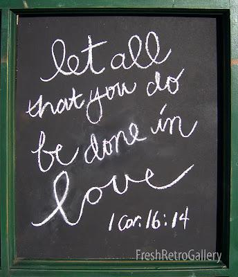 chalkboard art 1 Corintinians 16:14
