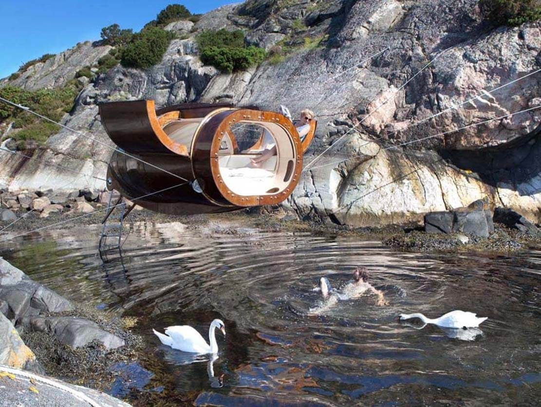 05-A-Visit-from-the-Swans-Erik-Pirolt-Architecture-with-the-Flying-Pod-www-designstack-co
