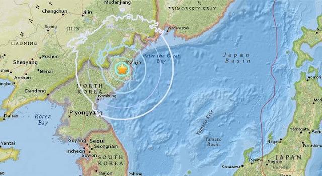 O desastre ocorreu em outubro, durante a construção de um túnel nas instalações nucleares norte-coreanas de Punggye-ri, fortemente afetadas pelo abalo provocado pelo sexto ensaio nuclear da Coreia do Norte, no início de setembro.