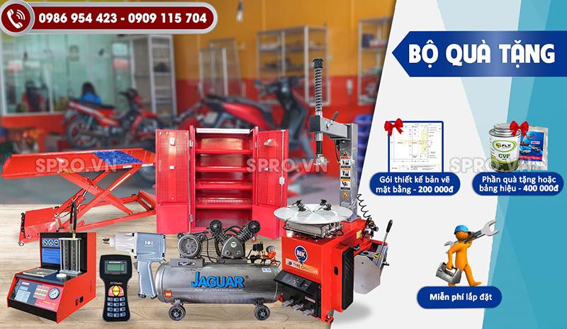 Bộ đồ nghề sửa xe máy gói full thiết bị tiêu chuẩn