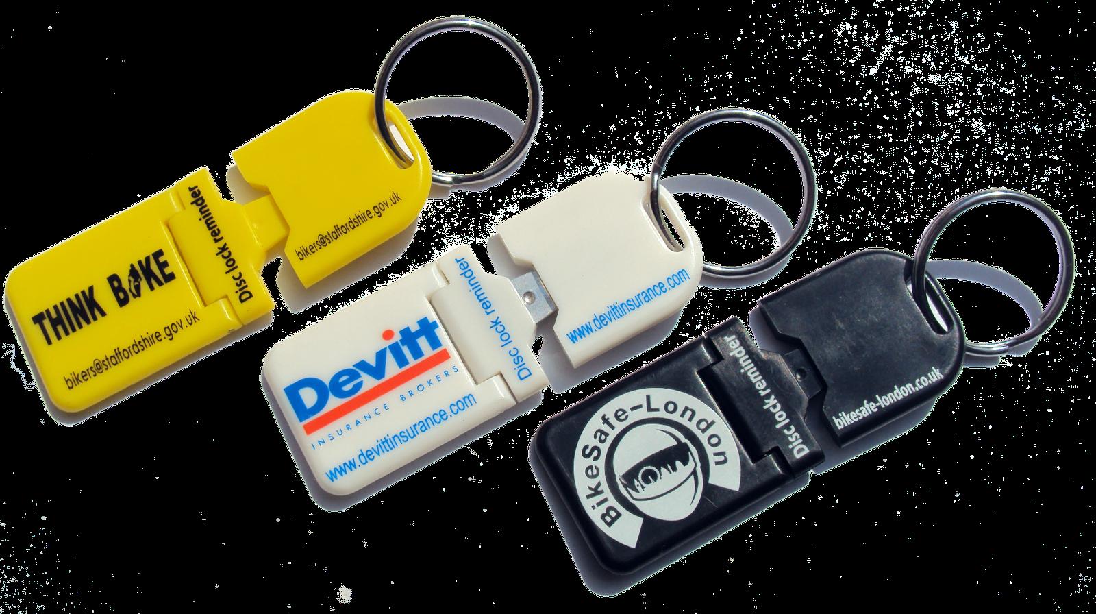 Metal Tip Disc lock reminder by Lock Mate Key