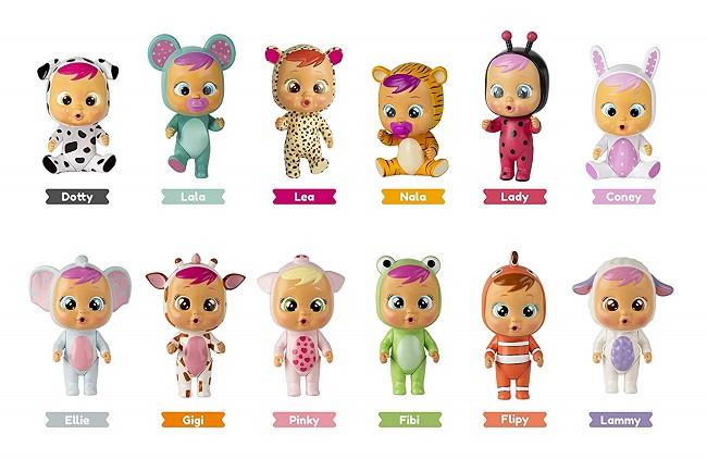 IMC Toys - Mini Bebés llorones lágrimas mágicas 12cm en Amazon