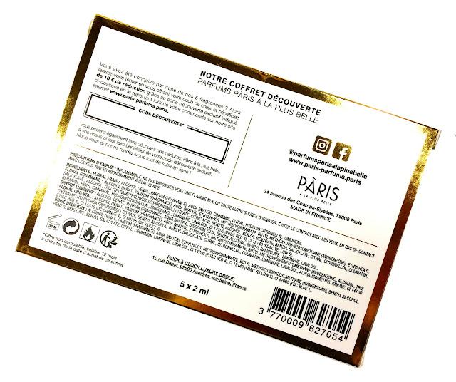 PARIS A LA PLUS BELLE Eaux de Parfum Coffret Découverte