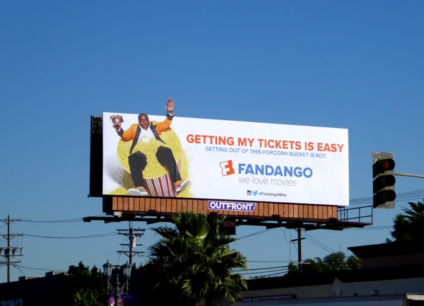 Fandango Getting my tickets is easy billboard