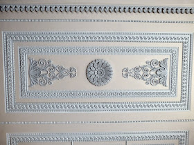 Ceiling in the White Drawing Room