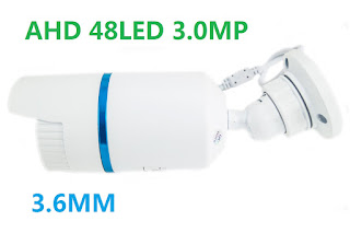 TELECAMERA AHD 3.0MP 48 LED