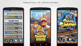 http://nkworld4u.blogspot.in/ Subway Surfers 1.44.1 NYC New York USA 3 [MOD] Modded Android App APK
