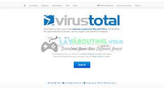 Cara Mengecek File Virus Tanpa  Software Antivirus