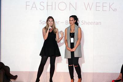 Fashion Week Becky Sheeran Talks