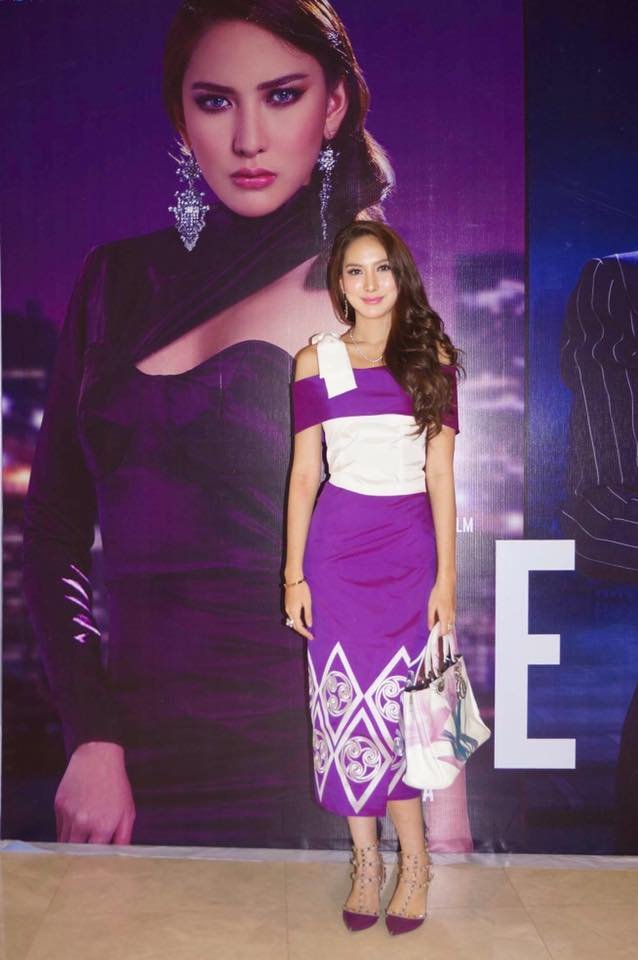 """Patricia Fashion Style At """" Reflection """" Movie Press Release Photos"""