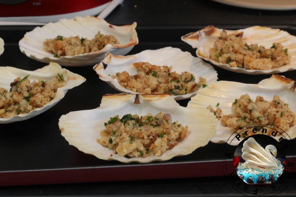Coquilles Saint-Jacques à la nantaise (pas à pas en photos)