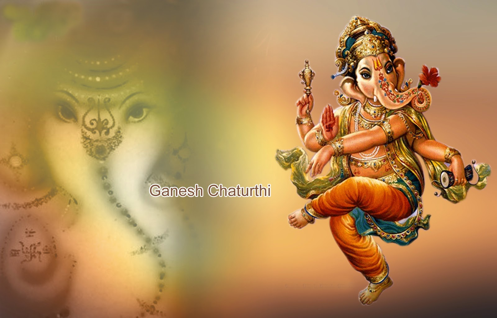 Ganesh Chaturthi Greetings Images, Wishes Cards   Festival