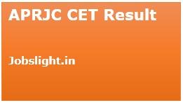 APRJC CET Result