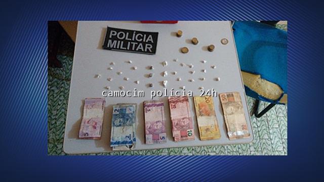 Polícia de Chaval prende adulto e adolescente por tráfico de drogas