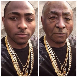 Schoking: Davido,wizkid ,Tiwa savage , Simi , Olamide and others : See How Celebrity Will look If they Grow Old