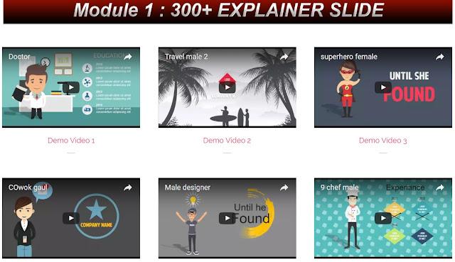 Download paket template powerpoint atau file PPT untuk bikin video yang menarik PPT Video Magic