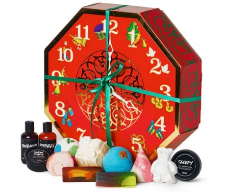 Lush 12 Days of Christmas Gift Set Giveaway