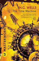 The Time Machine by H. G. Wells book cover