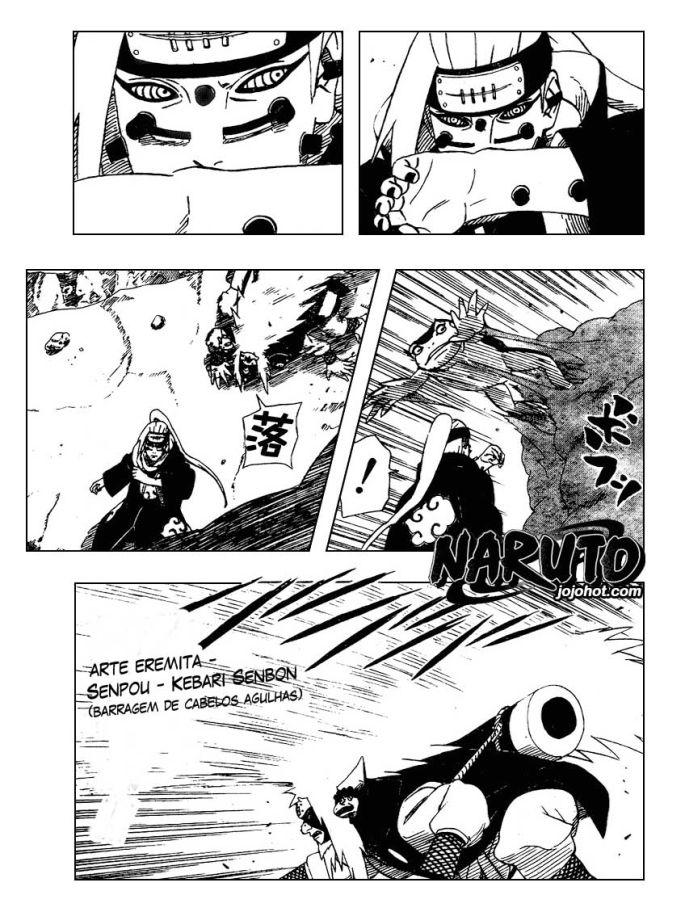 Orochimaru e Jiraiya vs Kisame e Sasori - Página 2 Naruto377-14