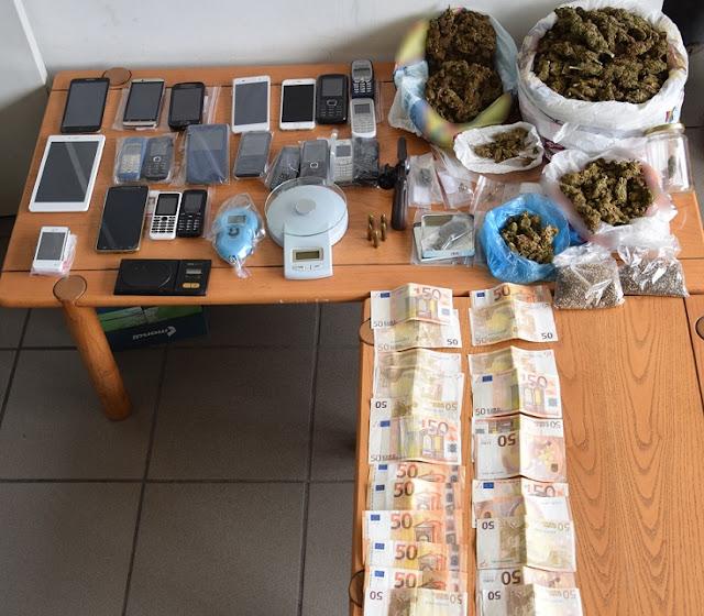 Εξαρθρώθηκαν συμμορίες που διακινούσαν ναρκωτικά σε περιοχές της Πελοποννήσου