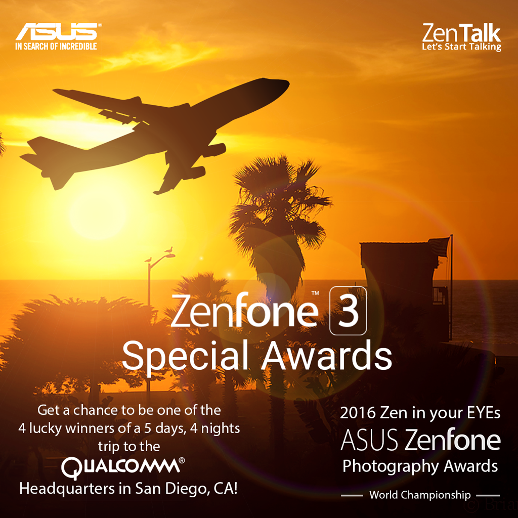 2016 Zen in your EYEs ASUS Zenfone Photography Awards the World Championship