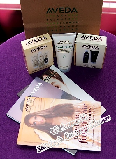 aveda bellabox blogger event