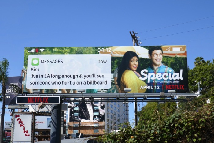 Special Netflix series billboard